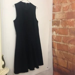 MADEWELL Fit and Flare Black cocktail Dress SZ 2
